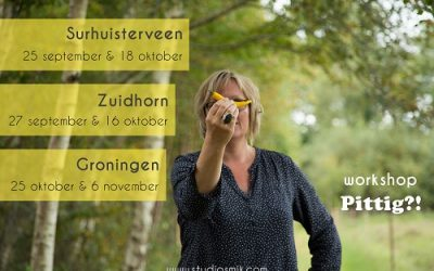Workshop 'Pittig' door Studio Smik