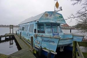 Bootje varen bij Earnewâld heel leuk!