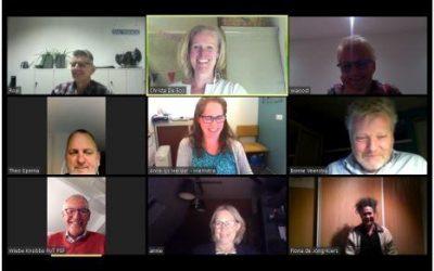 Online netwerkbijeenkomst